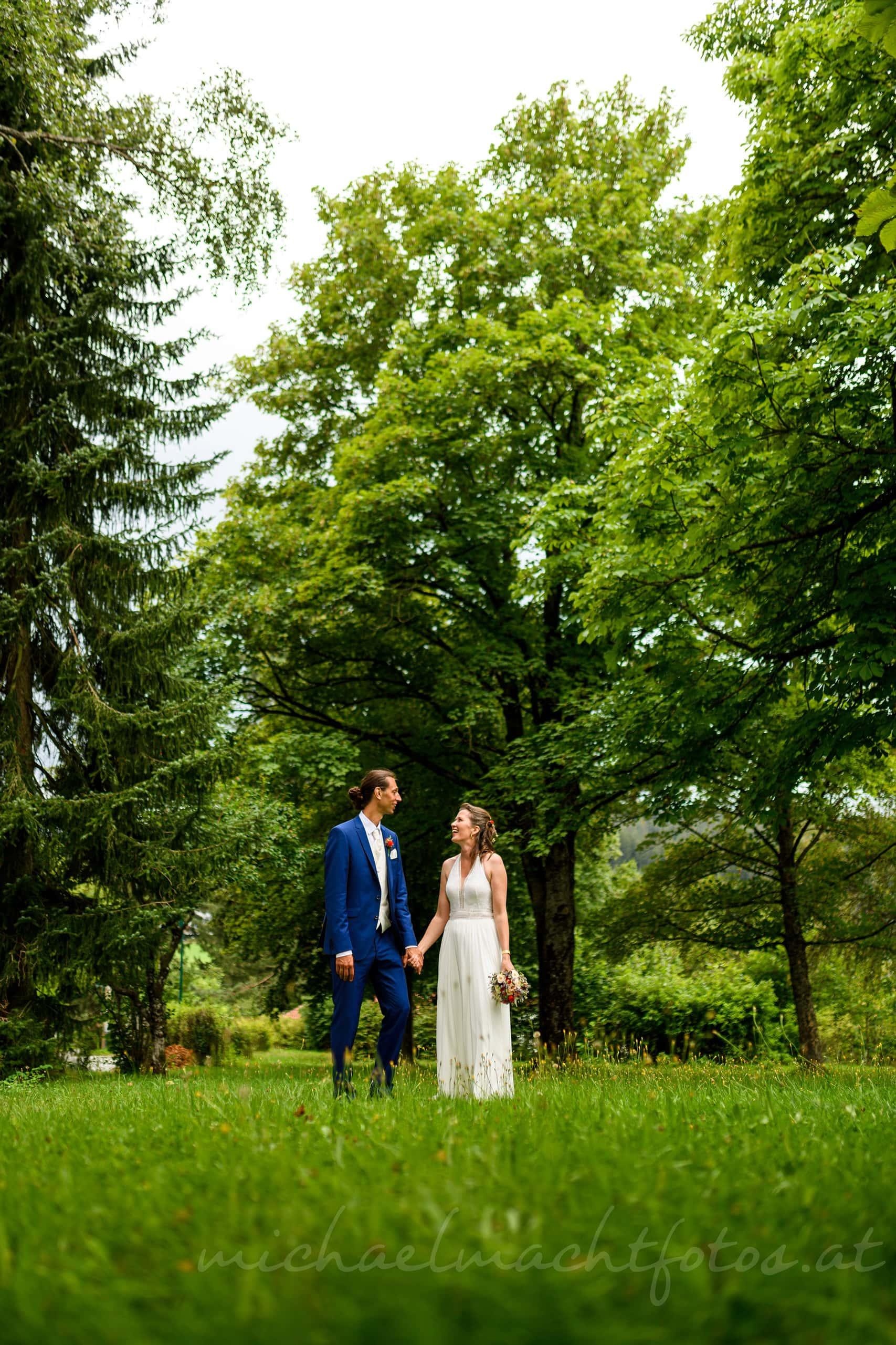 natürliche Hochzeitsfotos Oberösterreich